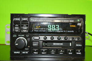 Delco Buick LeSabre factory CD cassette player radio 96 97 98 99 00 10303196 OEM