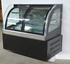Open Box Commercial Countertop Refrigerated Cake Bakery Display Case Cabinet 220