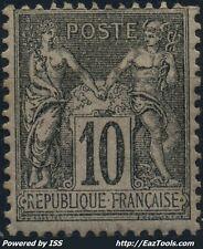 FRANCE SAGE N° 89 NEUF * AVEC CHARNIERE A VOIR