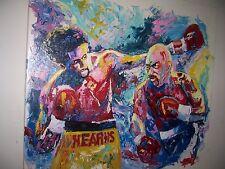 Hearns Hagler Painting 30x20 NOT a print/poster Box Framing Avail.Boxing art