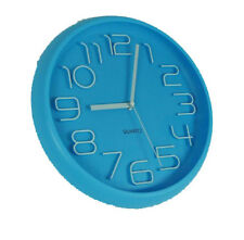 Design Wanduhr, Bürouhr, Küchenuhr wall-clock AY15070Blau