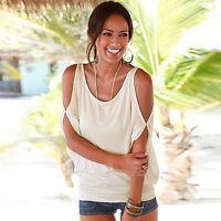 Women Summer Short Sleeve Loose Top Tunic Blouse Casual Shirt Beach Outdoor Tee