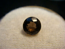 Smoky Quartz Round cut Gemstone 6 mm 0.75 carats Natural Gem