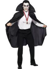 Costumi e travestimenti nero Smiffys per carnevale e teatro unisex, con soggetto dei Vampiri