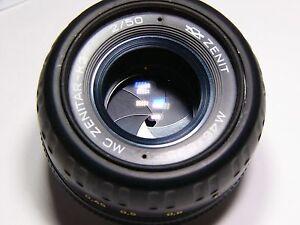 Zenitar-K K2 MC 2/50mm For Cameras with Pentax-K bayonet mount lens