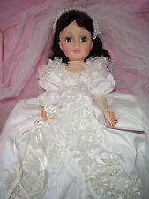 """Vintage 21"""" Scarlett Bride Madame Alexander 1990  -  #2258 Scarlett Series  MIB"""