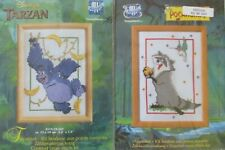Vervaco Disney's Tarzan Counted Cross Stitch Kit & Pocahontas kit