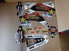 TEAM ROCKSTAR HONDA GRAPHICS CR125 CR250 CR125R CR250R 2002 2003 04 05 06 07 pts