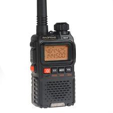 BaoFeng UV-3R más la venda dual Walkie Talkie 400-470MHz 136-174 radio de FM