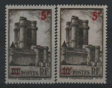 """FRANCE STAMP TIMBRE 491 """" VINCENNES 5F S.10F VARIETE COULEUR """"NEUFS xx LUXE R332"""