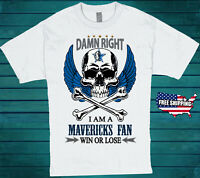 Dallas Mavericks NBA T-Shirt All Sizes Available Basketball Tee Free Shipping