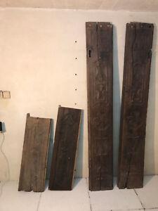 RARITÄT  - barocker Türstock/Türfutter aus Eichenholz geschnitzt