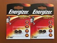 4 x Energizer LR44 1.5V Alkaline Battery A76 AG13 PX76A G13A 357  Batteries