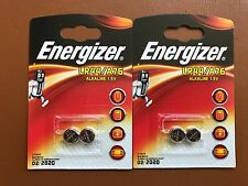 4 X Energizer LR44 1.5 V pile alcaline A76 AG13 PX76A G13A Piles