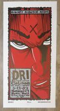 2003 Dri - Columbus Silkscreen Concert Poster s/n by Mike Martin D.R.I.