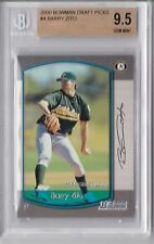 2000 Bowman Draft Barry Zito Rookie Graded BGS 9.5