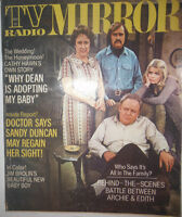 Tv Radio Mirror Magazine Cathy Hawn & All In The Family May 1972 072314R