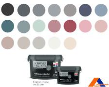 Wandfarbe, Innenfarbe Glitzer, Glimmerfarbe, grün,blau,rot,grau,beige,mint,weiß