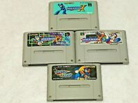 Lot ROCKMAN X X2 X3 Forte Mega Man Nintendo SFC Super Famicom Japan SNES NTSC-J