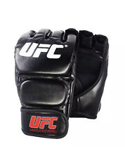 UFC Gloves MMA Fighting Training Sparring Boxing Gloves Half Finger Black