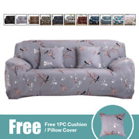 1/2/3 Seater Sofa Covers Slipcover Elastic Stretch Settee Couch Chair Protector