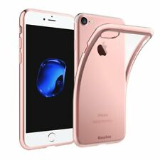 EasyAcc Soft iPhone 7 / iPhone 8 Slim Anti Slip Case Back Protector Rose Gold