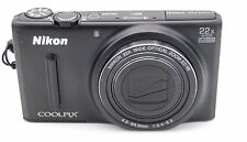 Nikon Coolpix S9600 16.0MP 22x Zoom Fotocamera Digitale - Nero