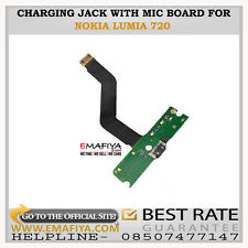 Micro USB Charging Port Connector Flex Cable Mic PCB Board For Nokia Lumia 720
