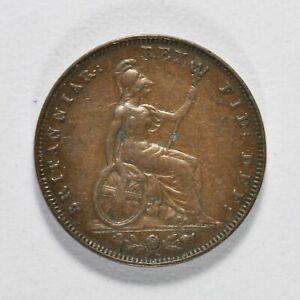 GB GEORGE IV COPPER FARTHING 1826 ++ HIGH GRADE!! ++ [039-03]