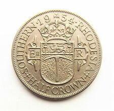 Southern Rhodesia Elizabeth II 1954  Halfcrown