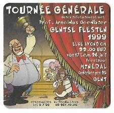 "Arnoldus Goedbier recto-verso ""Olifant DELIRIUM + kabouter CHOUFFE  "" Zeldzaam!."