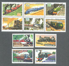 Australia-Trains 2 sets mnh