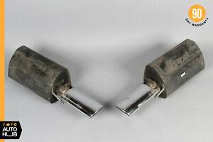 00-06 Mercedes W220 CL55 S55 AMG S500 Sport Exhaust Muffler Mufflers Tips OEM