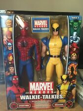 Pair of Marvel Heroes Walkie-Talkies (Spiderman and Wolverine)