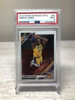 2019 Panini Donruss Optic Lebron James PSA 9 Mint NBA Los Angeles Lakers
