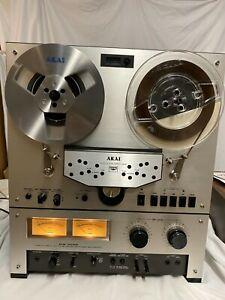 Akai GX-266D Reel to Reel - Just Serviced, Org. Box, Manual, OEM Sides, No Rsv!
