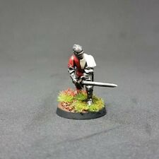 Pie Medieval Knight, Pintado 28mm D&D, Saga, Escenografia