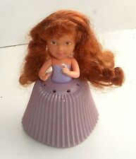 Vintage 1990 Tonka Toys-Cupcake Muñecas ~ hojaldre de Crema ~ de algodón de azúcar (CU21)