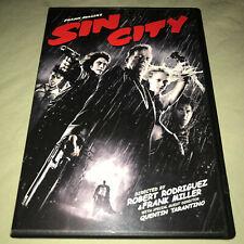 Sin City Dvd Widescreen Mickey Rourke Robert Rodriguez Bruce Willis Movie