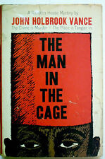 THE MAN IN THE CAGE   -   JACK VANCE  - 1ST. EDITION  -  EDGAR WINNER 1960