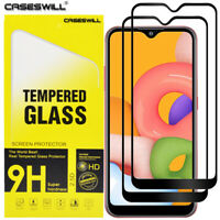 For Samsung Galaxy A01 - Caseswill Premium Tempered Glass Film Screen Protector