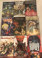 Graphic Novels DC Comics Vertigo IDW Image Rick and Morty Lot of 9