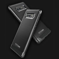 Cover Carbon Nera Samsung Note 8 Noziroh Shockproof Frosted 3D Case Funda Coque
