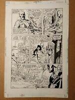 Original Comic Art Swamp Thing (vol 3) #4 page 3 Roger Petersen & Joe Rubinstein