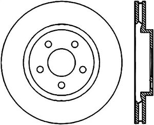 StopTech 127.63062L StopTech Sport Rotor Fits 300 Challenger Charger Magnum
