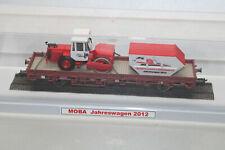 Kibri Maina Chariot Années avec Compacteur Routier 2012 Échelle H0 Vitrine