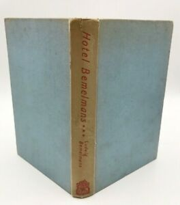 Hotel Bemelmans by Ludwig Bemelmans 1956 Edition Hardback Illustrations Old Book