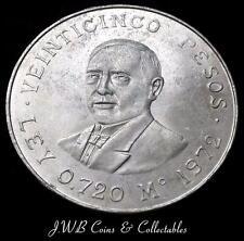 1972 Mexico Silver 25 Pesos Coin