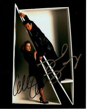DAVID DUCHOVNY & GILLIAN ANDERSON Signed THE X-FILES MULDER & SCULLY Photo