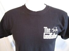 The Godfather Movie Logo Black T Shirt Men Size M